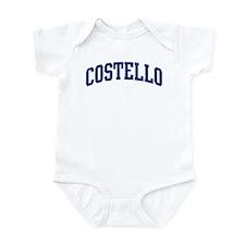 COSTELLO design (blue) Infant Bodysuit