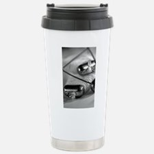 Crab Lines Stainless Steel Travel Mug