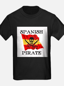 Spanish Pirate Ash Grey T-Shirt