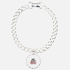 Eat Sleep Ukulele Bracelet