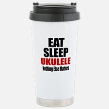 Eat Sleep Ukulele Travel Mug