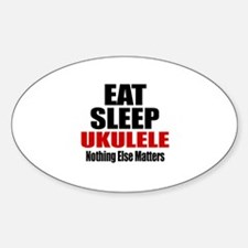 Eat Sleep Ukulele Decal