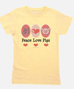 Cute Vegetarian girl Girl's Tee