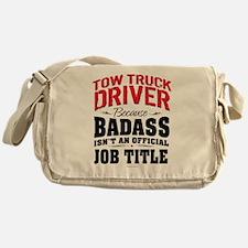 Tow Truck Driver Badass Messenger Bag