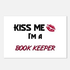 Kiss Me I'm a BOOK KEEPER Postcards (Package of 8)