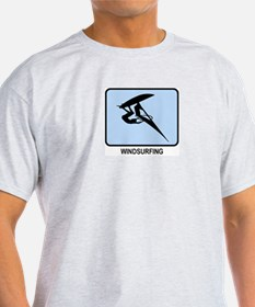 Windsurfing (BLUE) T-Shirt