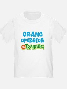 Crane operator in training T-Shirt