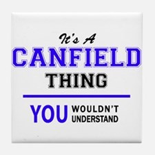 It's CANFIELD thing, you wouldn't und Tile Coaster