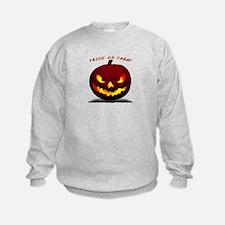 Scary Halloween Pumpkin Sweatshirt
