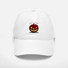 Scary Halloween Pumpkin Baseball Baseball Cap