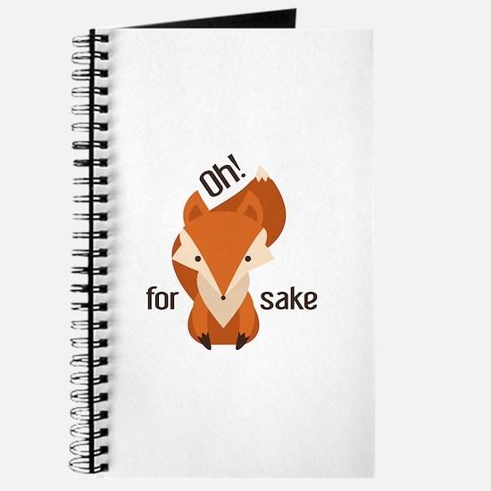 Oh For Fox Sake Journal