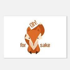 Oh For Fox Sake Postcards (Package of 8)