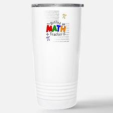 Funny Retired math teacher Travel Mug