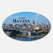Havana (Cuba) Sticker (Oval)