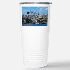 Havana (Cuba) Stainless Steel Travel Mug