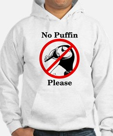 No Puffin Please Hoodie