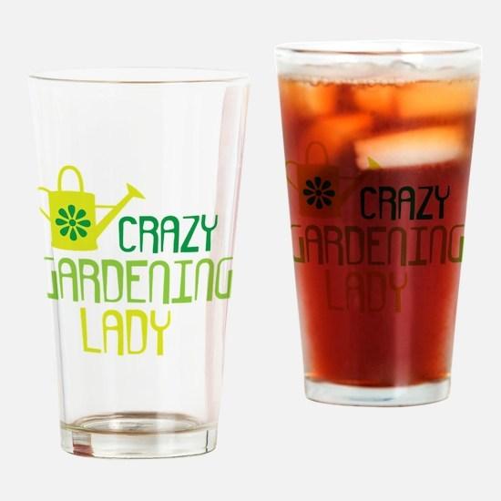 Gardening Drinking Glass