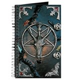Baphomet Journals & Spiral Notebooks