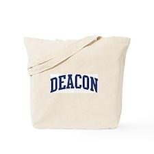 DEACON design (blue) Tote Bag
