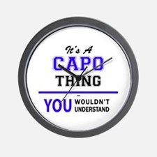 It's CAPO thing, you wouldn't understan Wall Clock