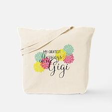 Gigi's Greatest Blessings Tote Bag
