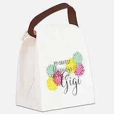Gigi's Greatest Blessings Canvas Lunch Bag