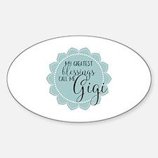 Gigi's Greatest Blessings Decal