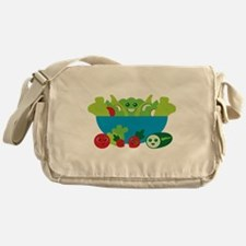 Kawaii Salad Messenger Bag