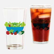 Kawaii Salad Drinking Glass