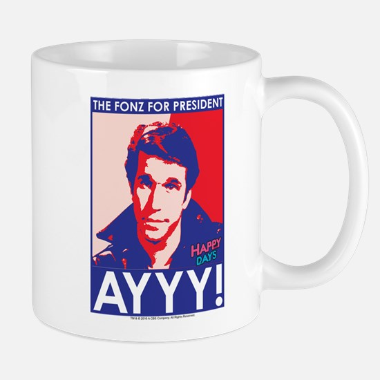 The Fonz for President Mug
