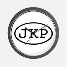 JKP Oval Wall Clock