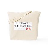 Drama teacher Canvas Totes