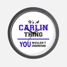 It's CARLIN thing, you wouldn't underst Wall Clock