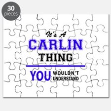 It's CARLIN thing, you wouldn't understand Puzzle