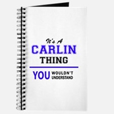 It's CARLIN thing, you wouldn't understand Journal