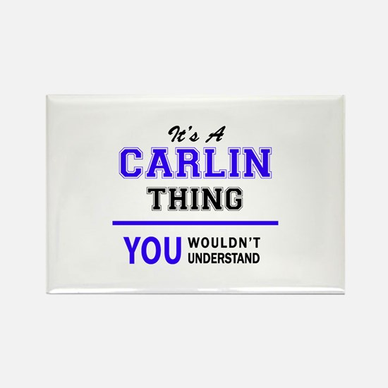 It's CARLIN thing, you wouldn't understand Magnets