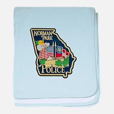 Norman Park Police baby blanket