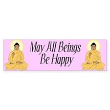 Buddhist Bumper Bumper Sticker