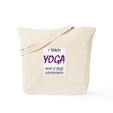 teach yoga Tote Bag