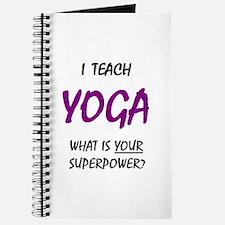 teach yoga Journal