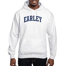 EARLEY design (blue) Hoodie