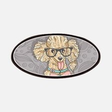 Hipster Poodle Patch