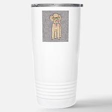 Hipster Poodle Travel Mug