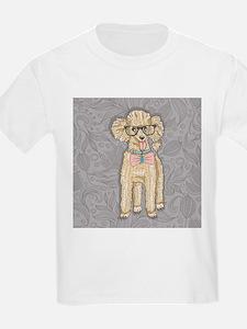 Hipster Poodle T-Shirt