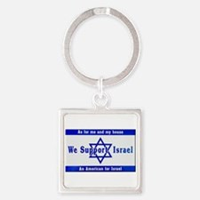 We Support Israel Keychains