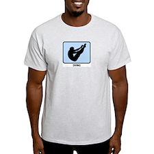 Mens Diving (BLUE) T-Shirt