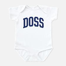 DOSS design (blue) Infant Bodysuit