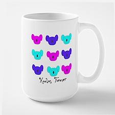 Koalas Forever Logo Large Mug