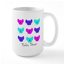 Koalas Forever Logo Mug