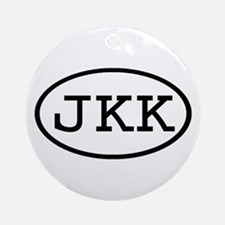 JKK Oval Ornament (Round)